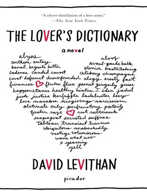 cover image of The Lover's Dictionary