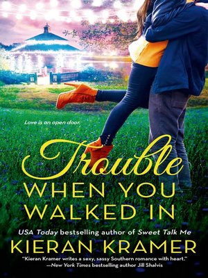 cover image of Trouble When You Walked In