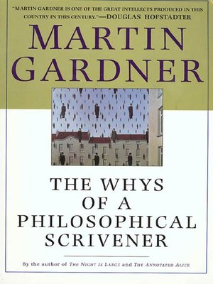 cover image of The Whys of a Philosophical Scrivener