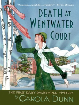 cover image of Death at Wentwater Court