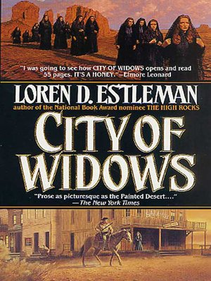 cover image of City of Widows