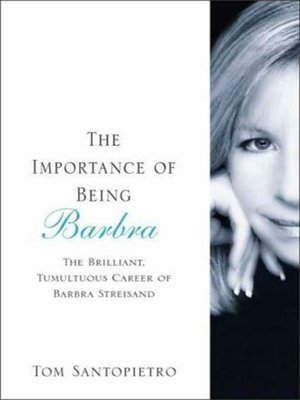 cover image of The Importance of Being Barbra