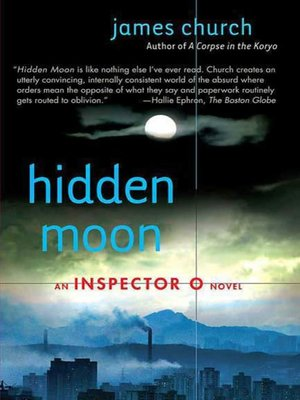 cover image of Hidden Moon--An Inspector O Novel