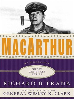 cover image of MacArthur--A Biography