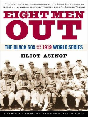 cover image of Eight Men Out