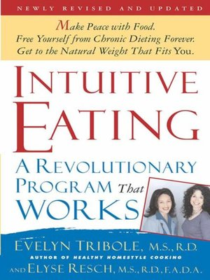 cover image of Intuitive Eating