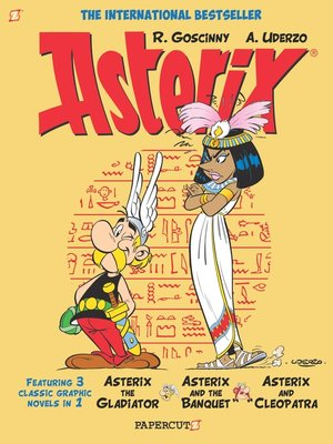 cover image of Asterix Omnibus #2--Collects Asterix the Gladiator, Asterix and the Banquet, and Asterix and Cleopatra