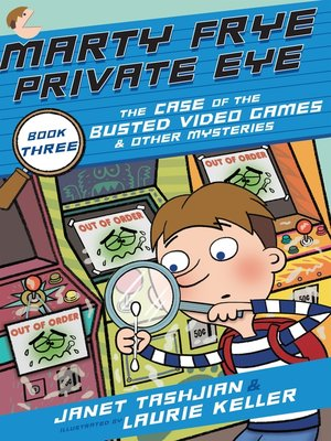 cover image of The Case of the Busted Video Games