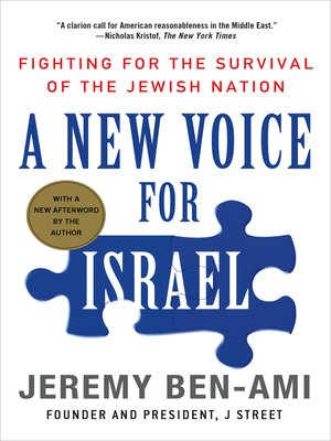 cover image of A New Voice for Israel
