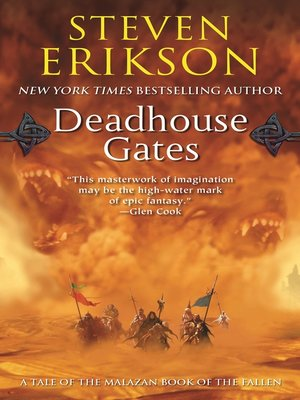 cover image of Deadhouse Gates--Book Two of the Malazan Book of the Fallen
