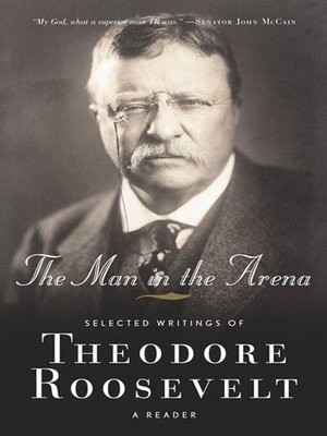 cover image of The Man in the Arena