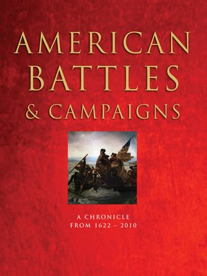 cover image of American Battles & Campaigns