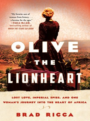 cover image of Olive the Lionheart