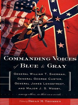 cover image of Commanding Voices of Blue & Gray