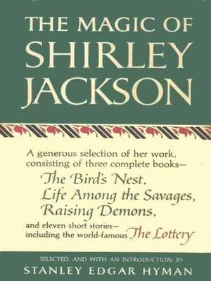 cover image of The Magic of Shirley Jackson