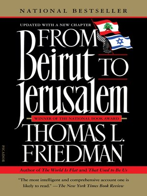 cover image of From Beirut to Jerusalem