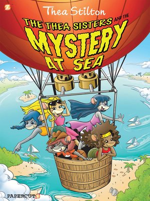 cover image of The Thea Sisters and the Mystery at Sea