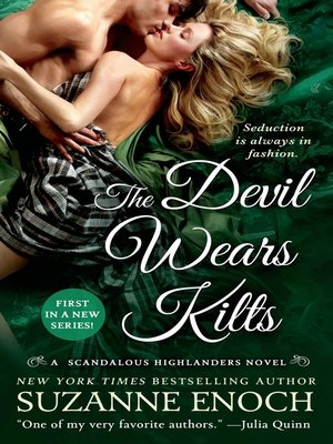 cover image of The Devil Wears Kilts