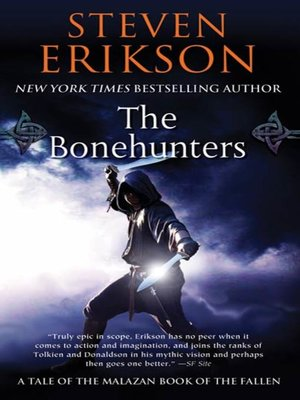 cover image of The Bonehunters--Book Six of the Malazan Book of the Fallen