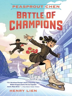 cover image of Peasprout Chen--Battle of Champions (Book 2)