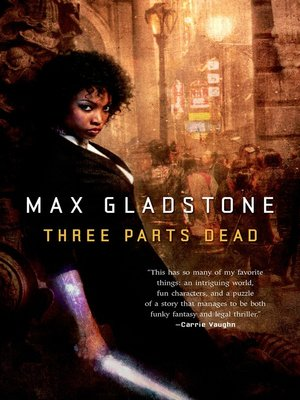 cover image of Three Parts Dead