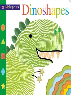 cover image of Alphaprints--Dinoshapes