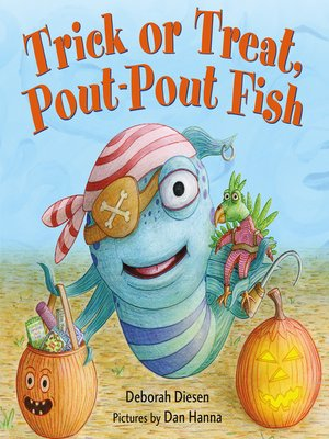 cover image of Trick or Treat, Pout-Pout Fish