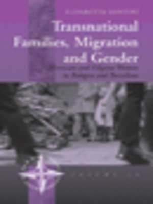 cover image of Transnational Families, Migration And Gender