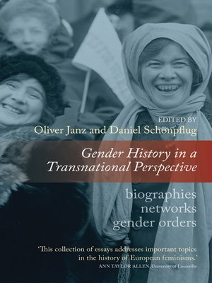 cover image of Gender History In A Transnational Perspective