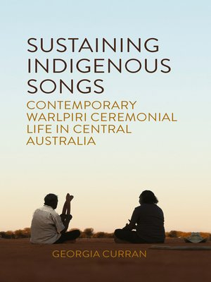 cover image of Sustaining Indigenous Songs