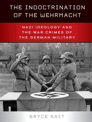 cover image of The Indoctrination of the Wehrmacht