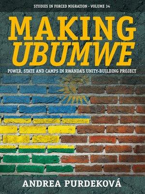 cover image of Making <i>Ubumwe</i>