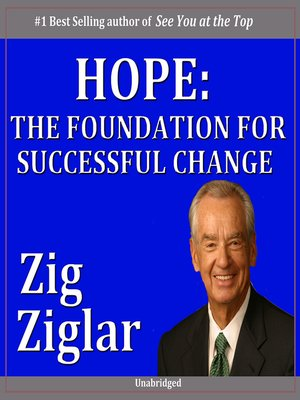cover image of Hope: The Foundation for Successful Change