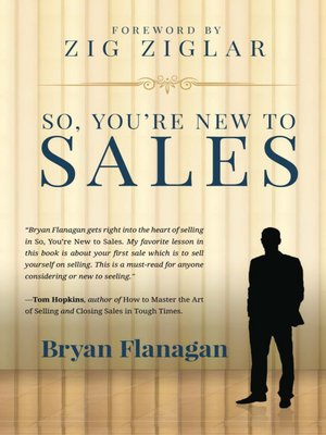 cover image of So You're New to Sales