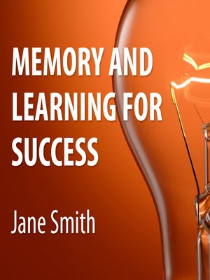 cover image of Memory and Learning for Success
