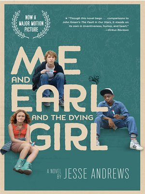 cover image of Me and Earl and the Dying Girl (Movie Tie-in Edition)