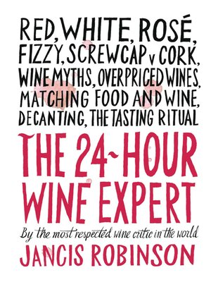 cover image of The 24-Hour Wine Expert