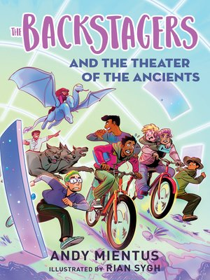 cover image of The Backstagers and the Theater of the Ancients (Backstagers #2)