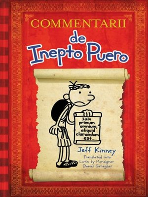 cover image of Diary of a Wimpy Kid Latin Edition