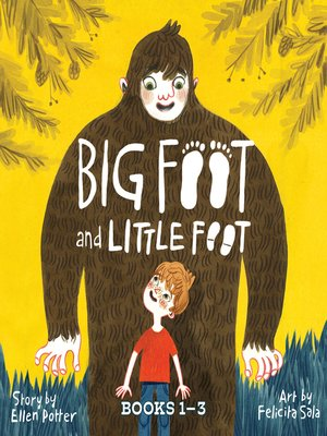 cover image of Big Foot and Little Foot Collection