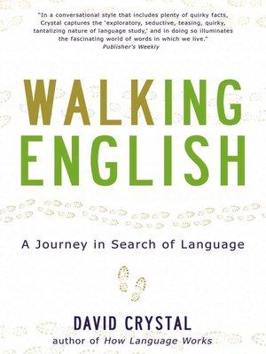 cover image of Walking English