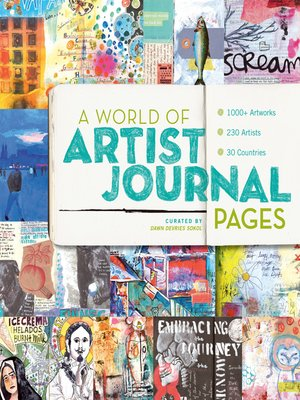 cover image of A World of Artist Journal Pages
