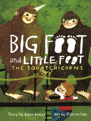 cover image of The Squatchicorns