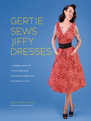 cover image of Gertie Sews Jiffy Dresses
