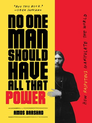 cover image of No One Man Should Have All That Power