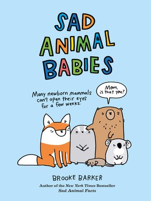cover image of Sad Animal Babies