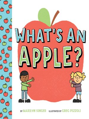 cover image of What's an Apple?