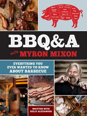cover image of BBQ&A with Myron Mixon