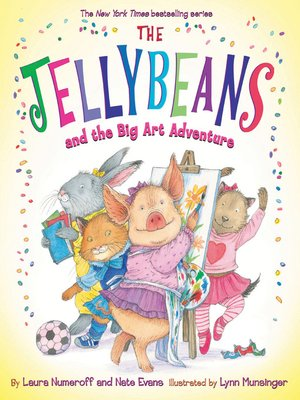 cover image of The Jellybeans and the Big Art Adventure