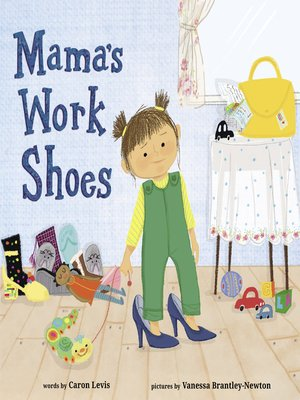 cover image of Mama's Work Shoes